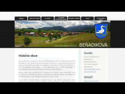 www.benadikova.sk