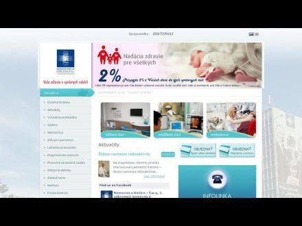 www.nemocnicasaca.sk