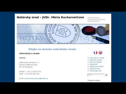 www.notarkucharovicova.sk