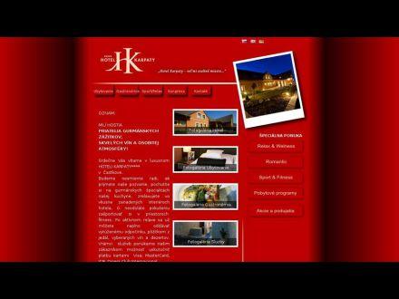 www.hotelkarpaty.sk