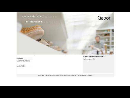 www.gabor.sk