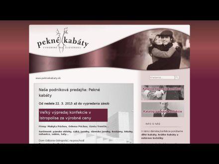 www.peknekabaty.sk
