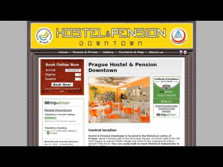 www.hostel-downtown.cz
