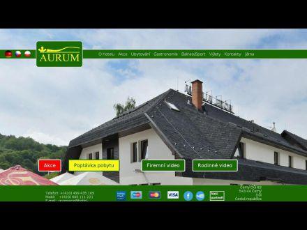 www.hotel-aurum.cz