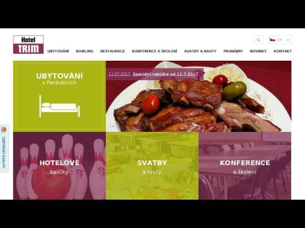 www.hosteltrim.cz