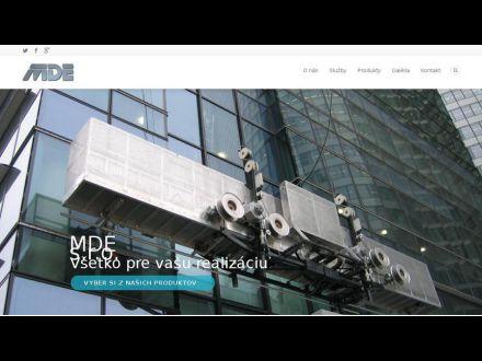 www.mde.sk