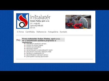 www.instalater-piatka.sk