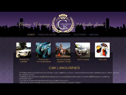 www.ck-limousines.sk