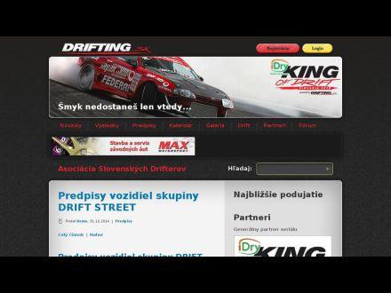 www.drifting.sk