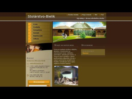 www.stolarstvo-bielik.webnode.sk