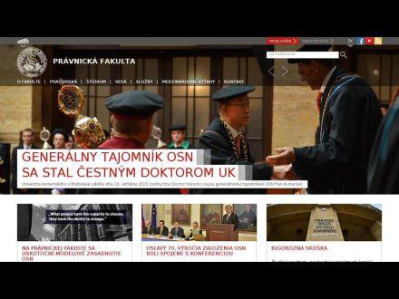 www.flaw.uniba.sk