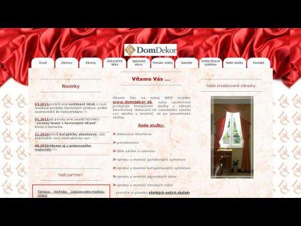 www.domdekor.sk