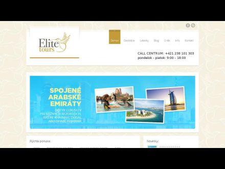 www.elitetours.sk