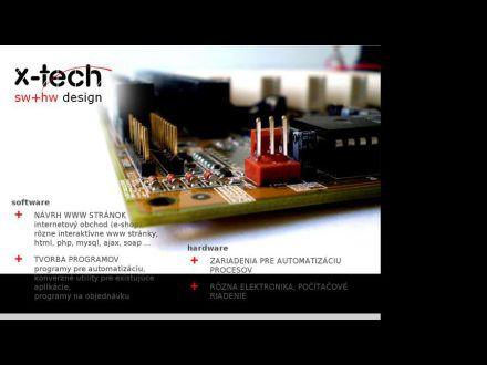 www.xtech.sk