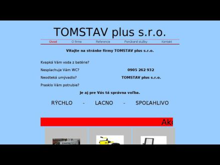 www.tomstavplus.sk