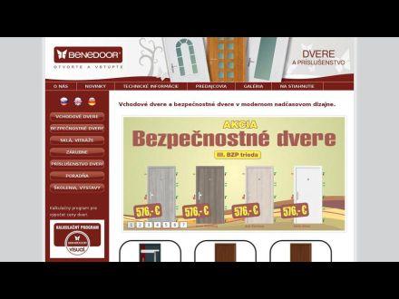 www.benedoor.sk/