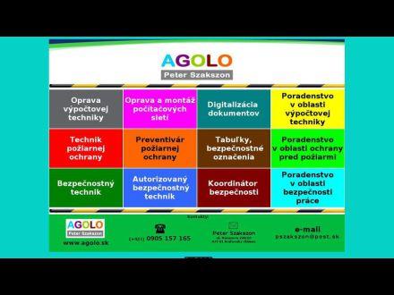www.agolo.sk