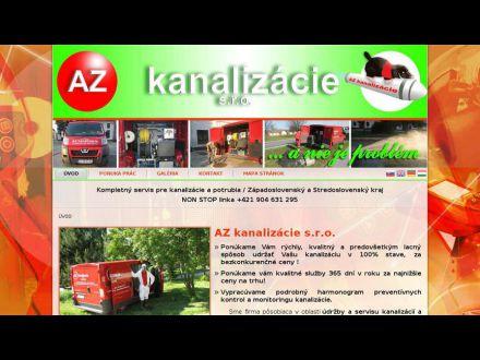 www.azkanalizacie.sk