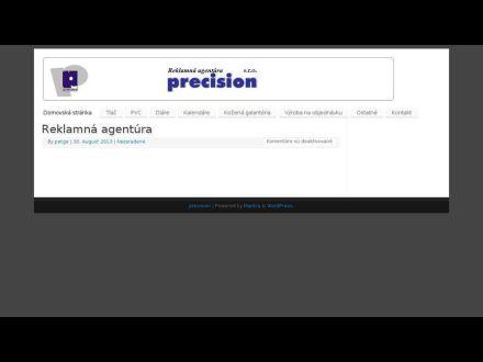 www.precision.sk