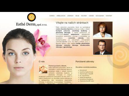 www.esthederm.sk