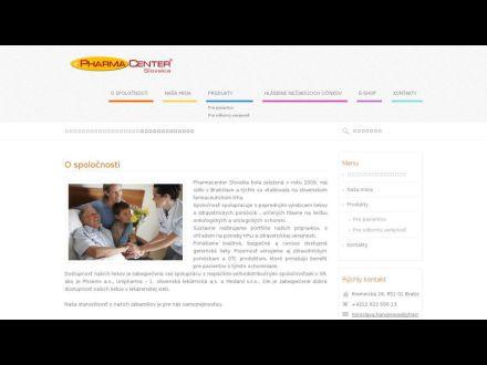 www.pharmacenter.sk