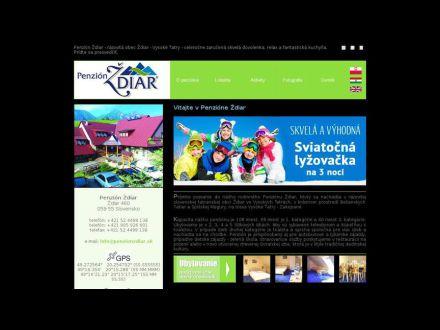 www.penzionzdiar.sk