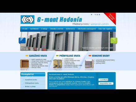 www.g-mont.cz