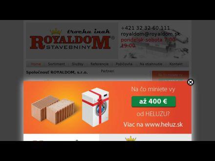 www.royaldom.sk