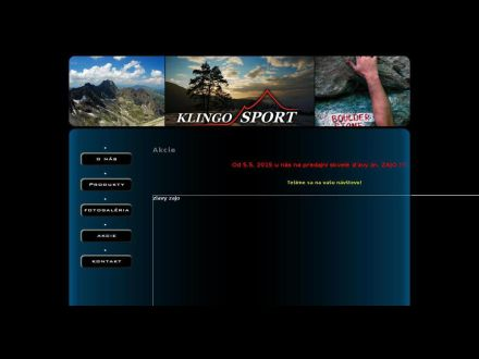 www.klingosport.sk