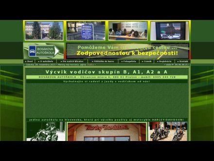 www.bosakova-autoskola.sk