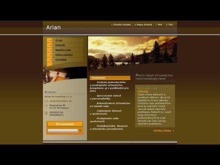 www.arian.webnode.sk