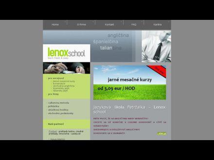 lenoxschool.sk
