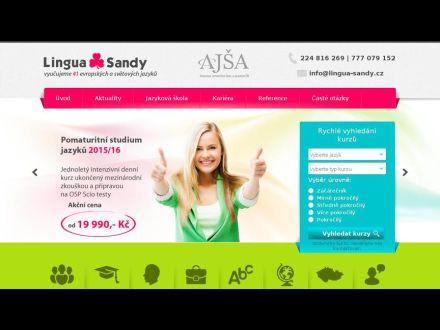 www.lingua-sandy.cz