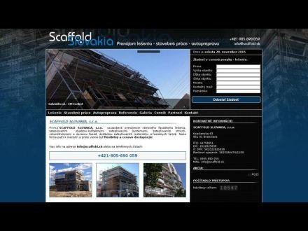 www.scaffold.sk