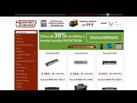 www.hudobny-obchod.sk