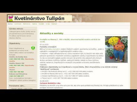 www.kvety-tulipan.sk