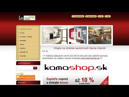 www.kamainterier.sk