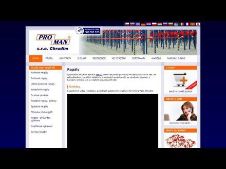 www.regaly-proman.cz