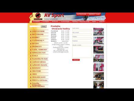 www.avsport.sk