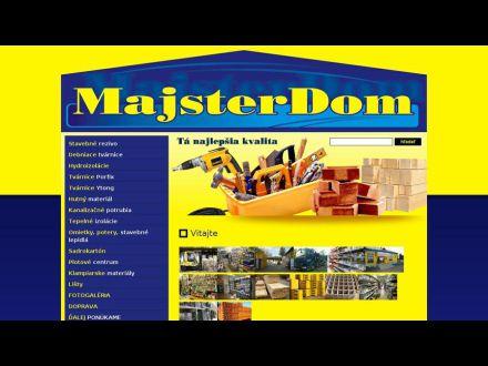 www.majsterdom.sk