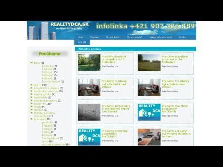www.realitydca.sk