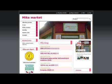 www.mikamarket.sk