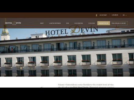 www.hoteldevin.sk