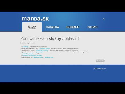 www.manda.sk