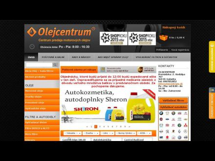 www.olejcentrum.sk