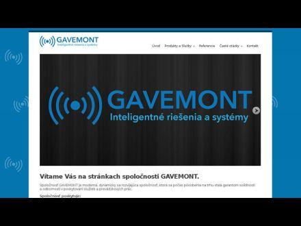 www.gavemont.sk
