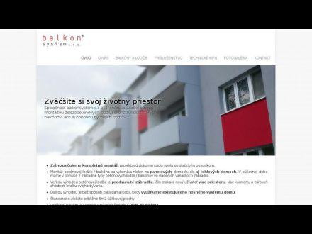 www.balkonsystem.sk