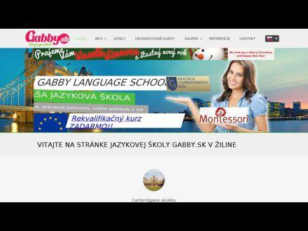 www.gabby.sk