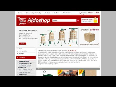 www.aldoshop.sk