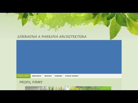 www.zahrady.poncak.sk